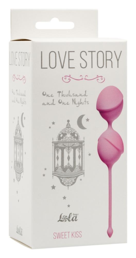 Вагинальные шарики Love Story One Thousand and One Nights Sweet Kiss 3004-01Lola