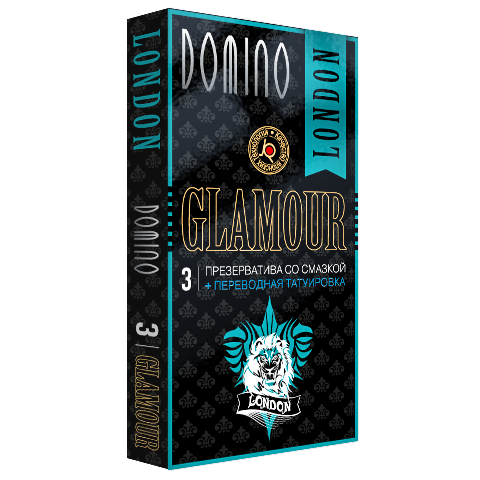 Презервативы Domino Glamour Лондон