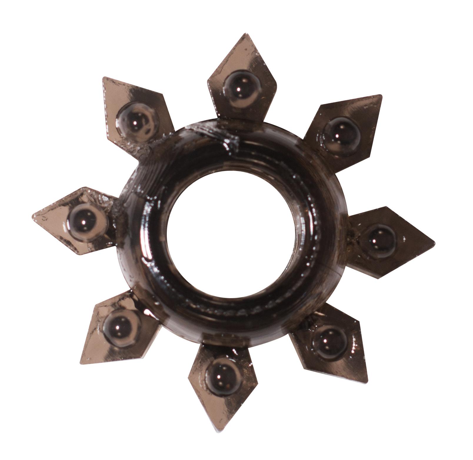 Эрекционное кольцо Rings Gear black 0112-21Lola